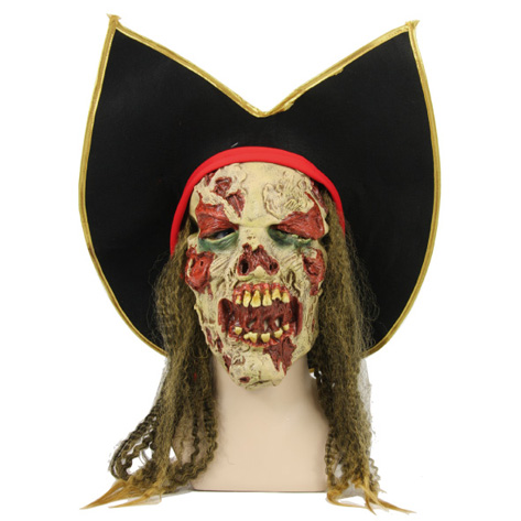 Masque Zombie pirate