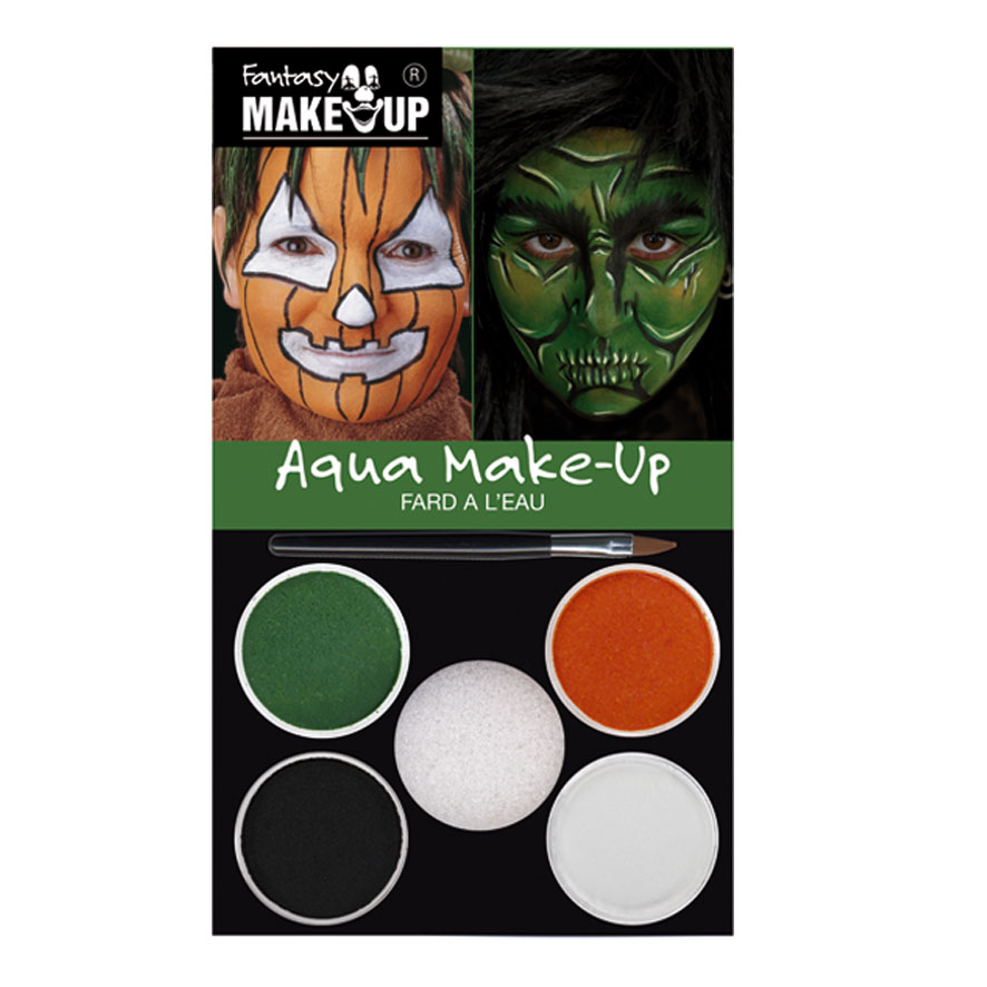 Set maquillage FANTASY  sorciere, citrouille
