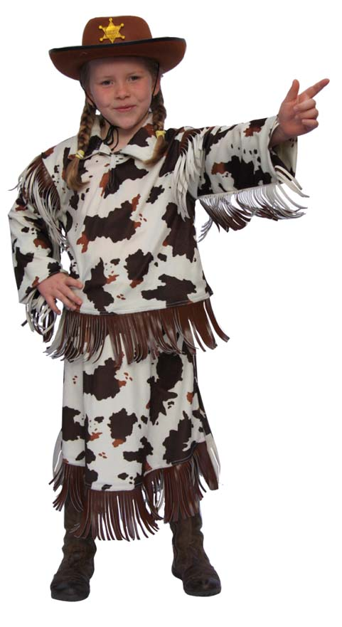 Deguisement Country Vache taille 104 cm