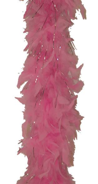 Boa + tinsel 45Gr rose
